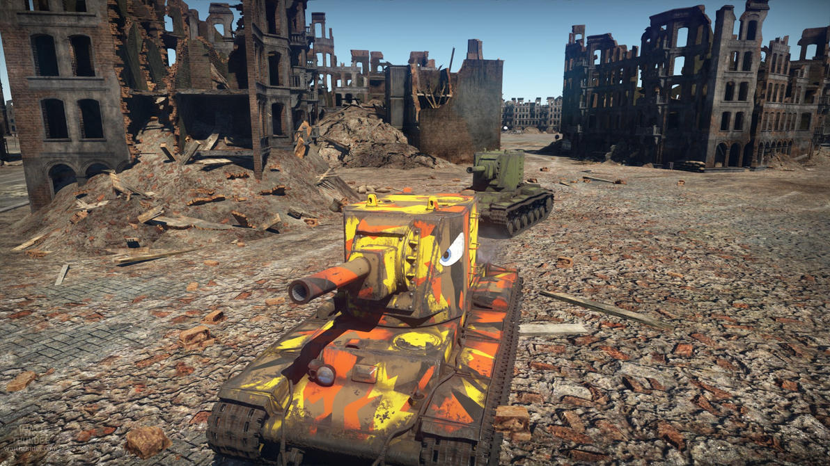 My KV2 and One that is not so Colourful... by bismark236