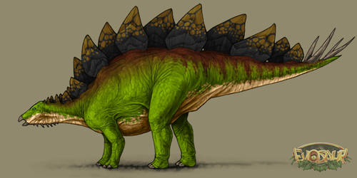 Stegosaurus Female Forest