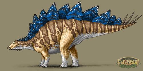 Stegosaurus Male Arid Display