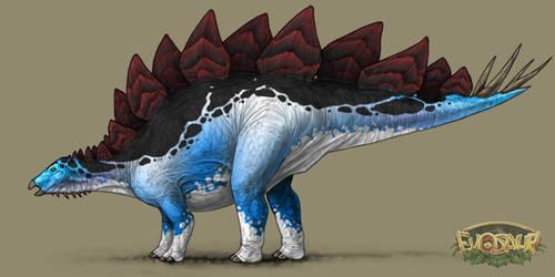 Stegosaurus Male Vivid