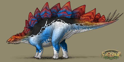 Stegosaurus Male Vivid display