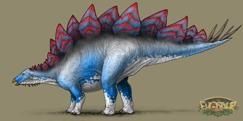 Stegosaurus Female Vivid