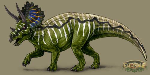 Ceratopsian Male Standard Display