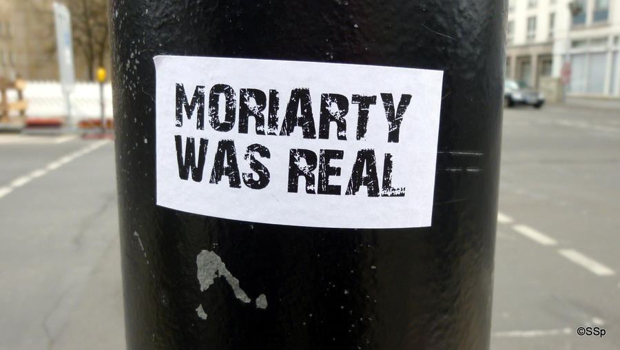 Moriarty was real. by Lionpelt-66