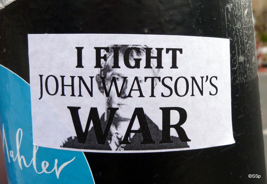 I fight John Watson's war by Lionpelt-66