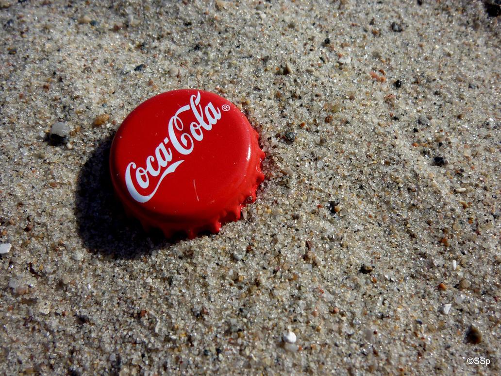 Coca-Cola 3 - sand by Lionpelt-66