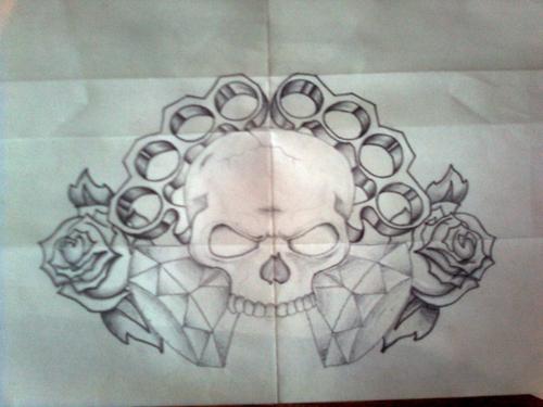 Tattoo Design FINISHED - chest tattoo