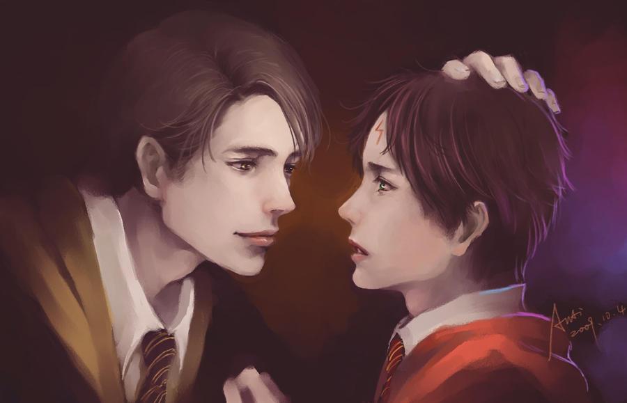 AU_Cedric + Harry