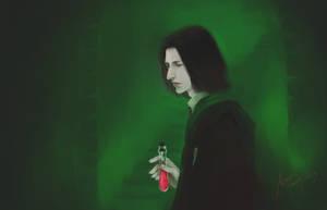 Young Severus Snape by woshibbdou