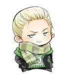Q-Draco Malfoy-smirk