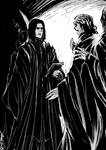 Snarry - cloak