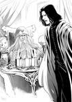 Snarry - furious Snape
