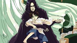takamin  Severus snape  and hp