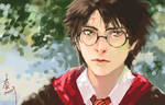 sketch  harry potter