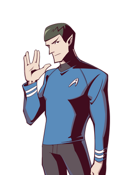 PV Series ST TOS Spock