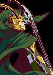 PV Series The Avengers Loki by woshibbdou