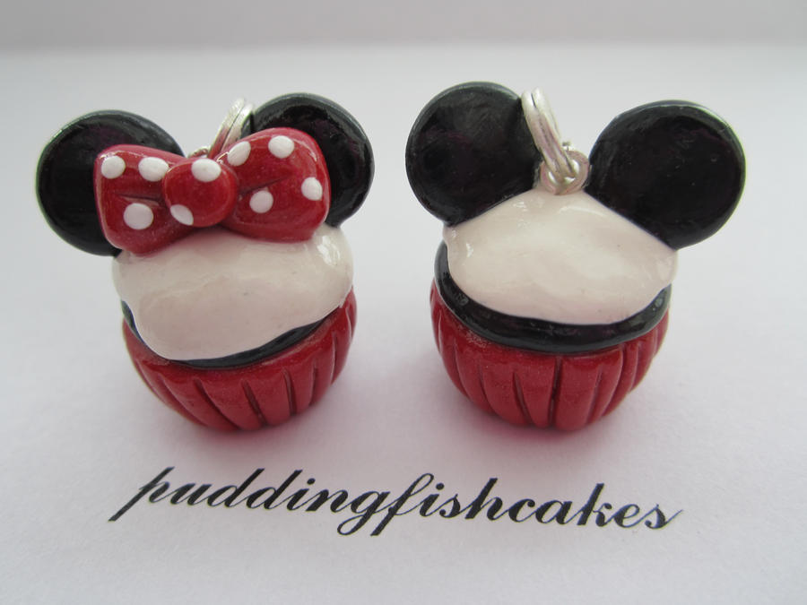 Minnie and Mickey Mouse Cupcakes by puddingfishcakes on ...