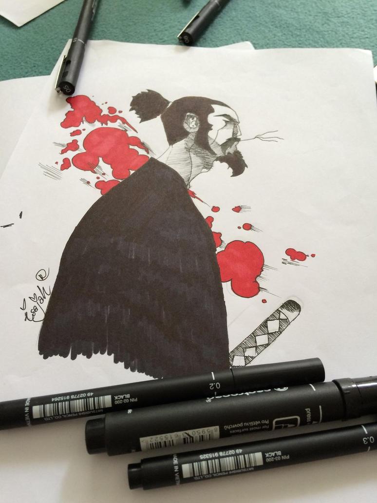 Samurai by isajahDB