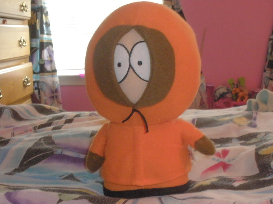 My Kenny Plushie by SkunkyRainbow270