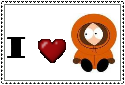 I love Kenny Stamp by SkunkyRainbow270