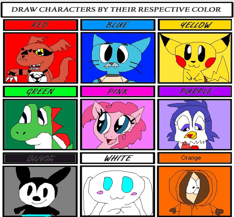 color meme by skunkyrainbow270 on deviantart
