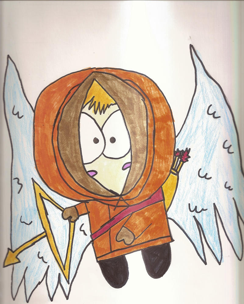 Cupid Kenny by SkunkyRainbow270