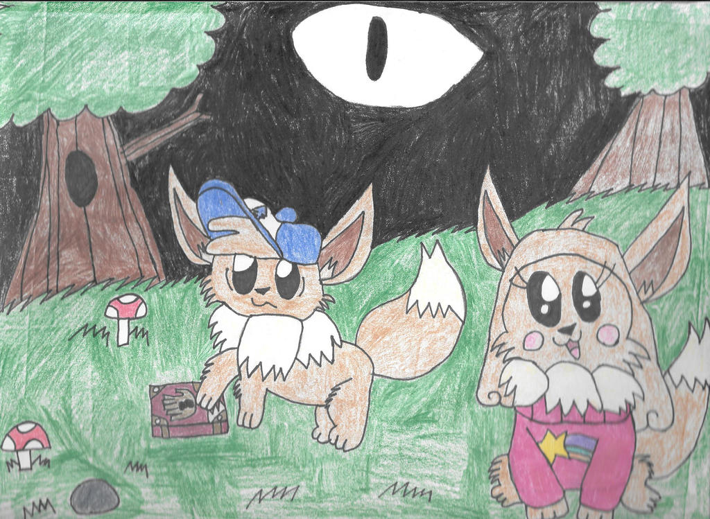 Pokemon Falls by SkunkyRainbow270