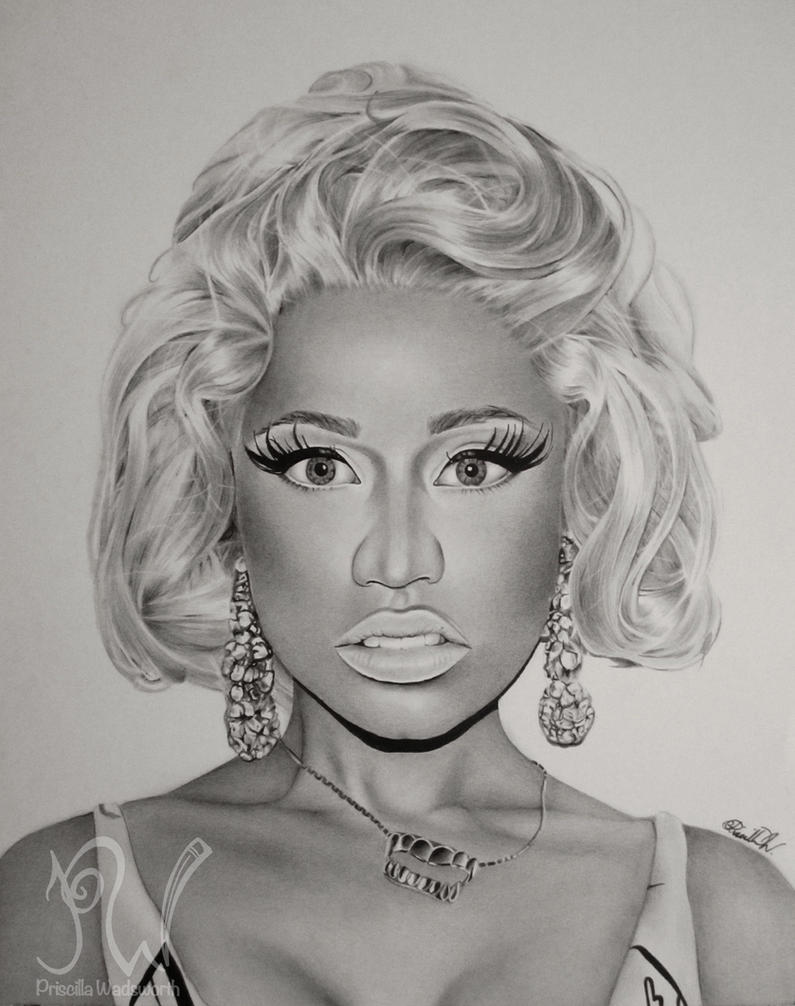 Nicki minaj by priscillaw on deviantart nicki minaj by priscillaw voltagebd Image collections