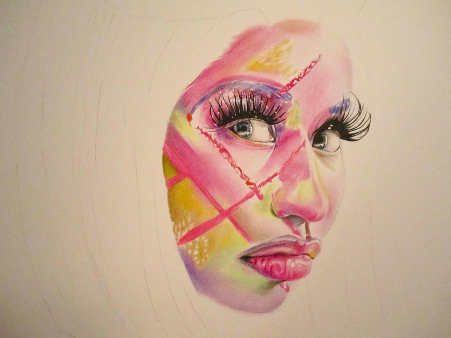 Nicki Minaj Drawings Tumblr Images amp Pictures Becuo