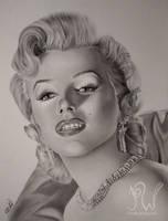 Marilyn Monroe by PriscillaW
