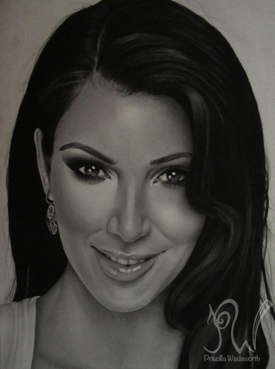 Kim Kardashian by PriscillaW