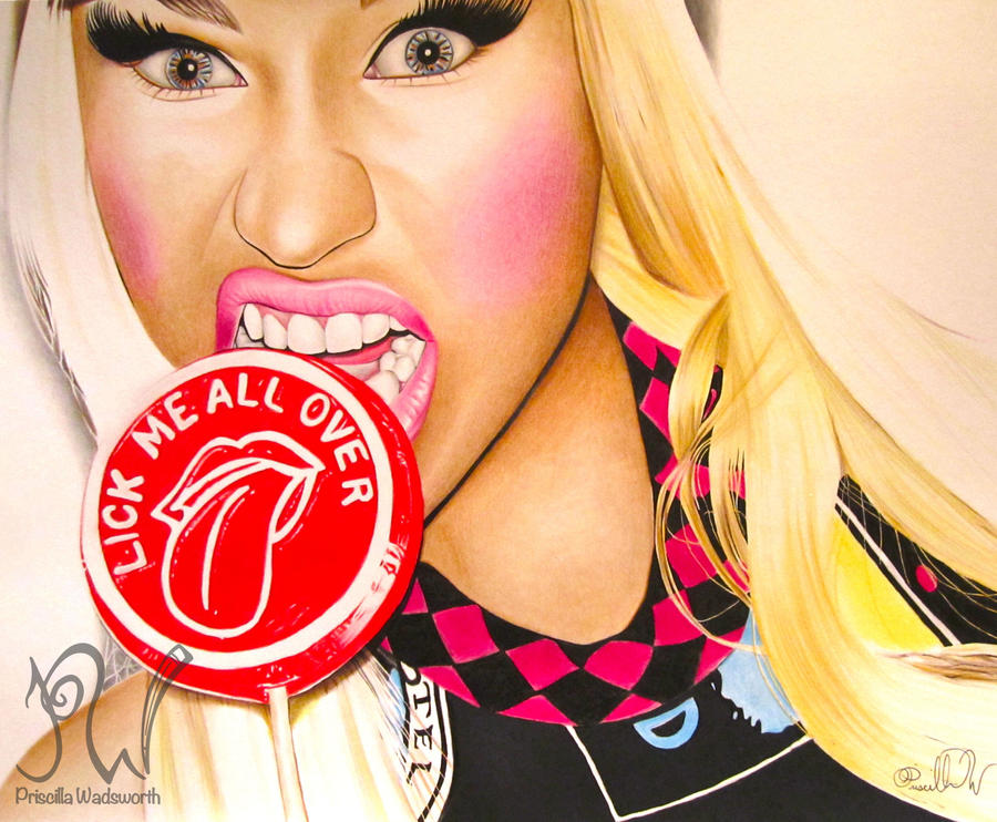 Nicki Minaj: The Re-Up by PriscillaW