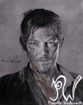 Norman Reedus by PriscillaW