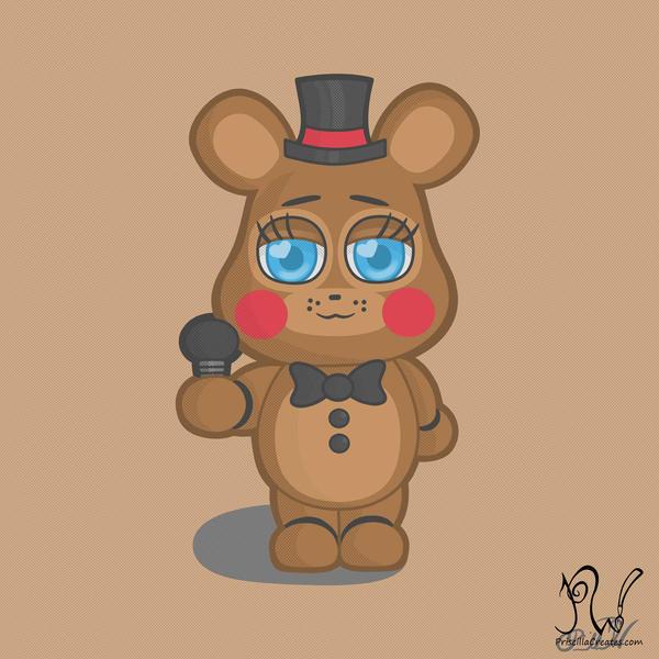 Toy Freddy by PriscillaW