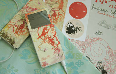iPod Nano 1G Skin - Oriental by paperplane-products