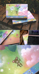 Laptop Skin - Bear by paperplane-products
