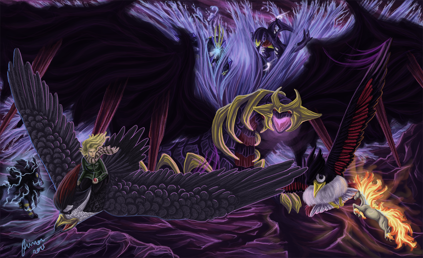 Versus Giratina by ShadeofShinon on DeviantArt