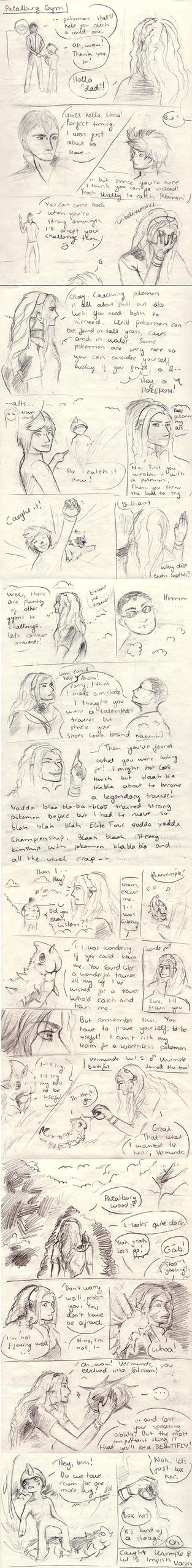 Emerald Nuzlocke 2 - pt. 2 by ShadeofShinon