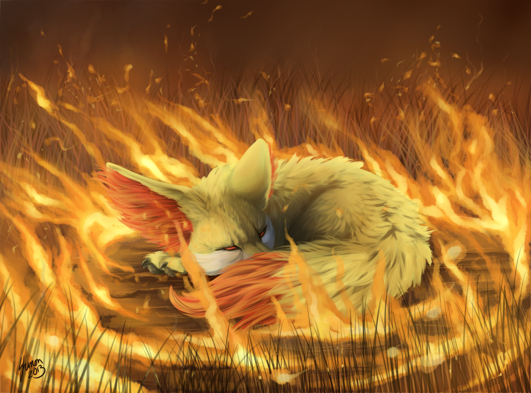 Nest of Fire by ShadeofShinon