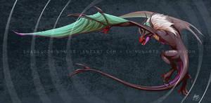 Heavy Metal Dragon by ShadeofShinon