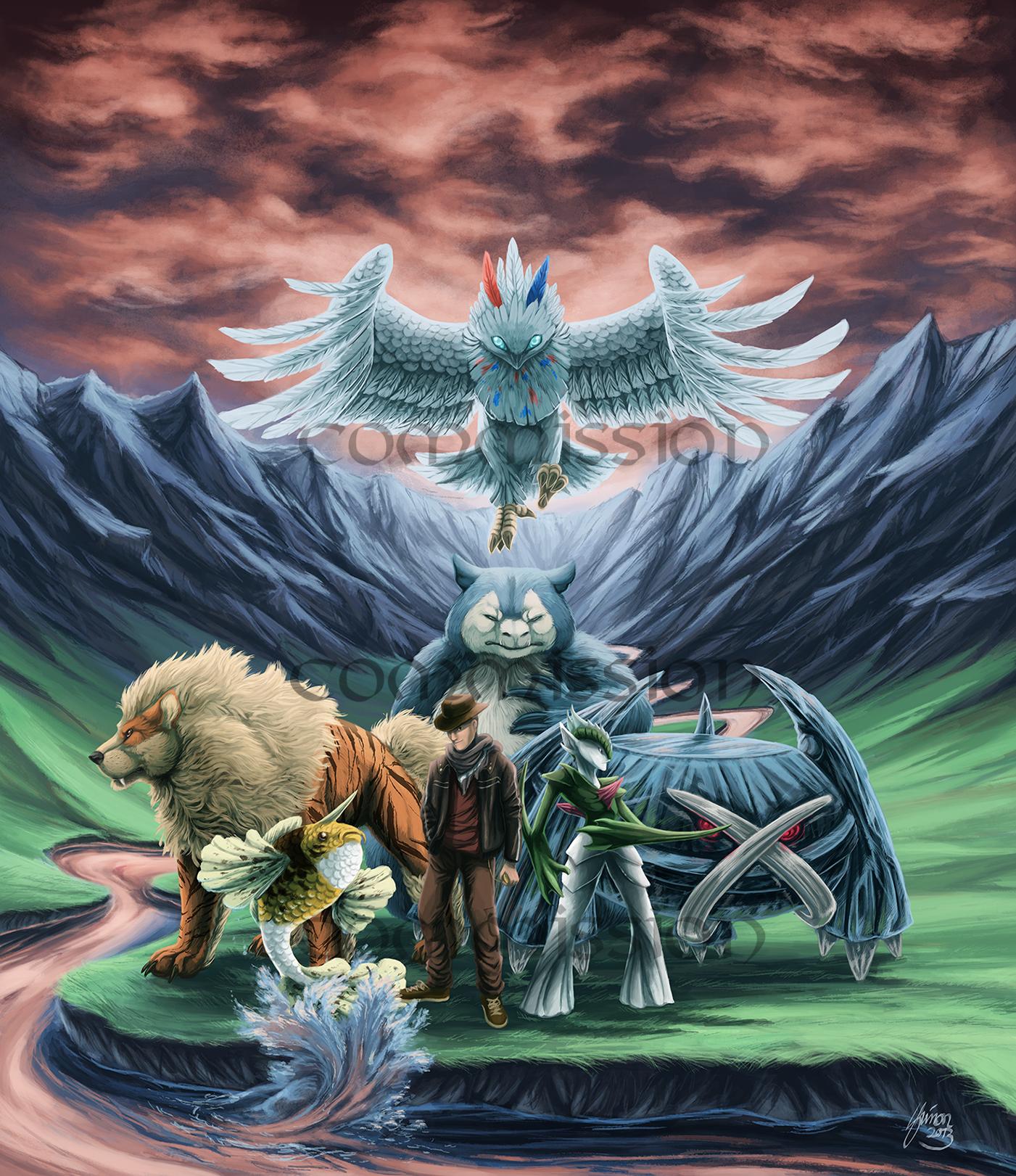 Commission: Samael's Team by ShadeofShinon