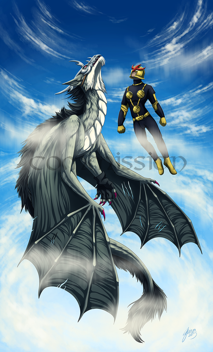 Commission: Higher Flight by ShadeofShinon