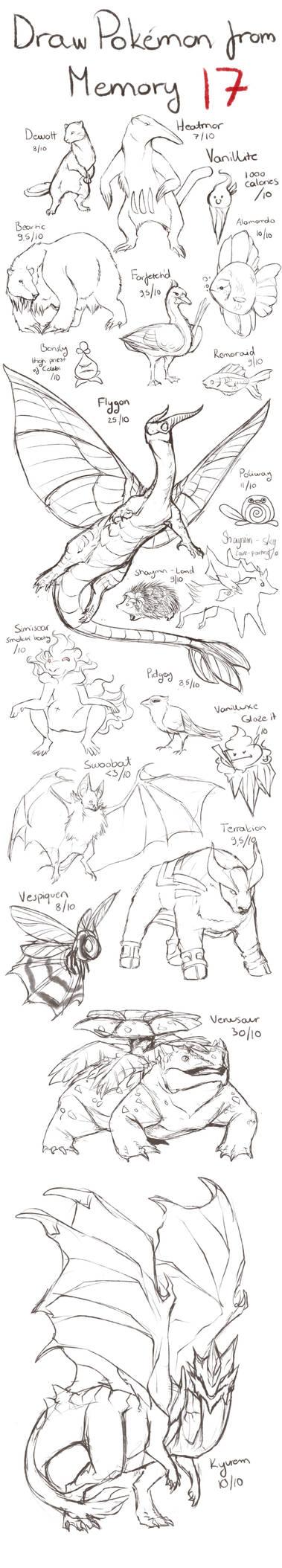 Draw Pokemon from Memory 17