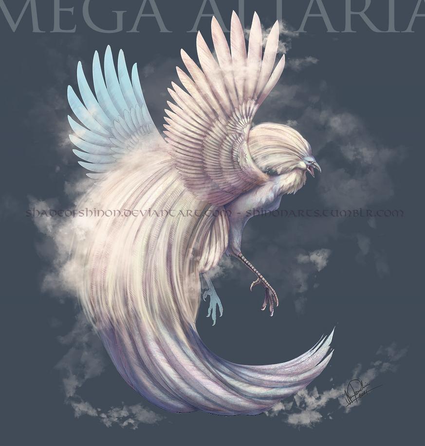 Mega Altaria by ShadeofShinon