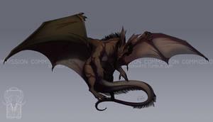 Commission: Ryuu by ShadeofShinon