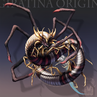 Type Collab: Giratina Origin by ShadeofShinon