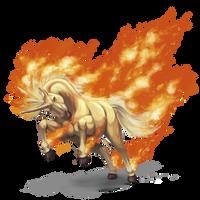 Rapidash used Flare Blitz! by ShadeofShinon