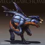 Type Collab: Mega Garchomp