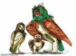 Rowlet Family