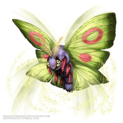 Dustox Used Silver Wind! by ShadeofShinon